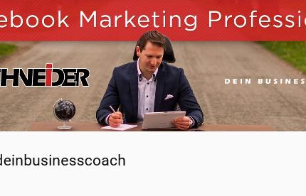 Ben Schneider #deinbusinesscoach